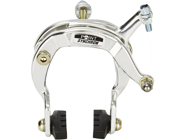 Point Side brake Caliper Front wheel grey